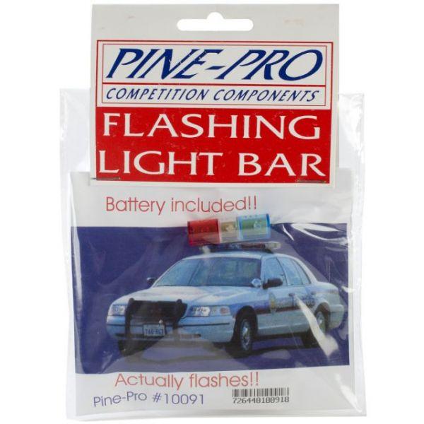 Pine Car Derby Flashing Light Bar W/Battery