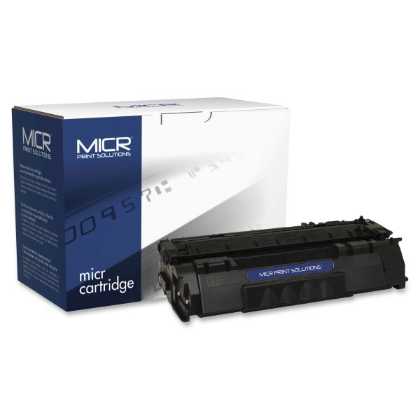 MICR Print Solutions Remanufactured HP 53A Black Toner Cartridge