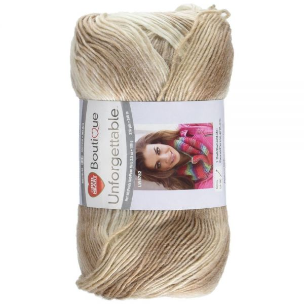 Red Heart Boutique Unforgettable Yarn - Cappuccino
