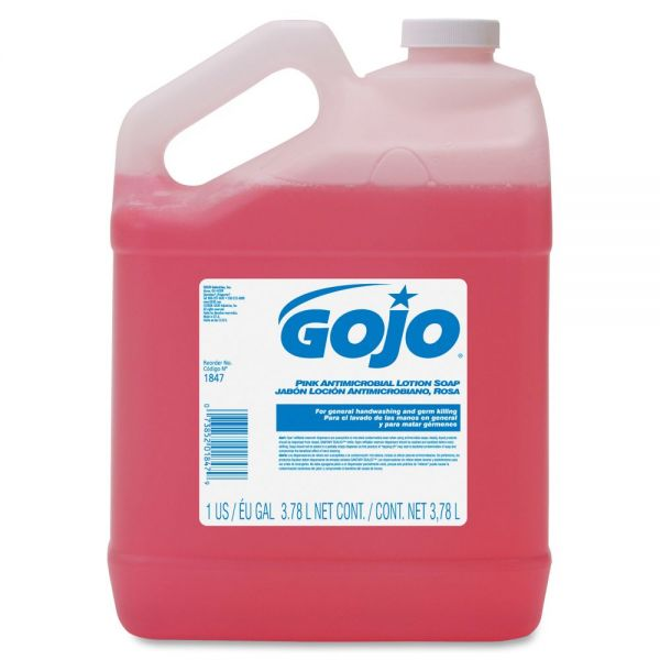 Gojo Pink Antimicrobial Lotion Soap Refills