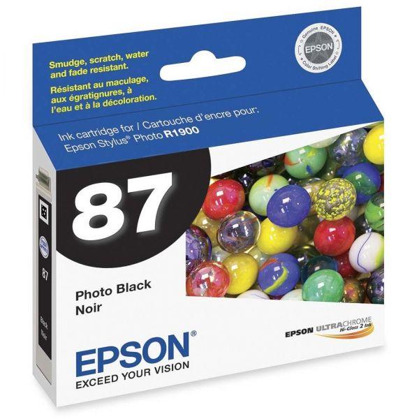 Epson 87 Photo Black Ink Cartridge