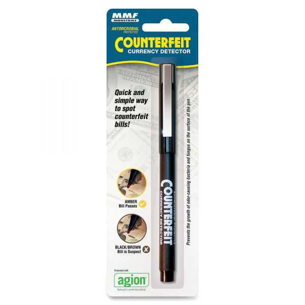 MMF Industries Counterfeit Currency Detector Pen