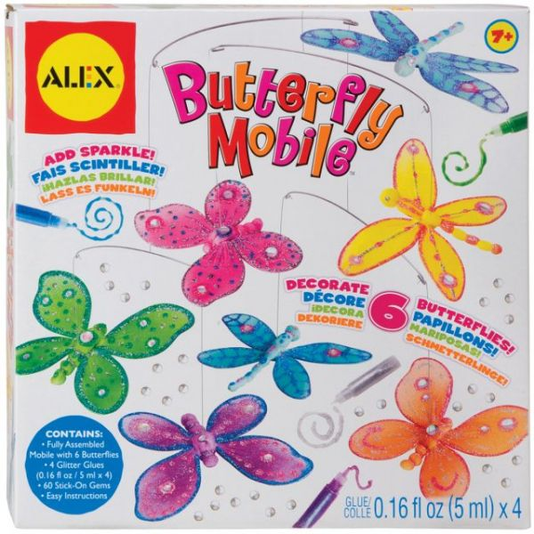 ALEX Toys Butterfly Mobile Kit