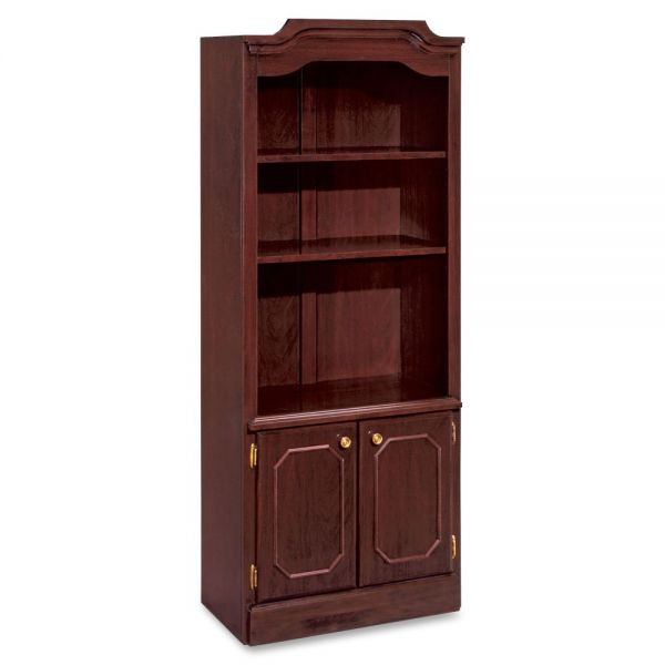 DMi Governor's 3-Shelf Bookcase With Doors