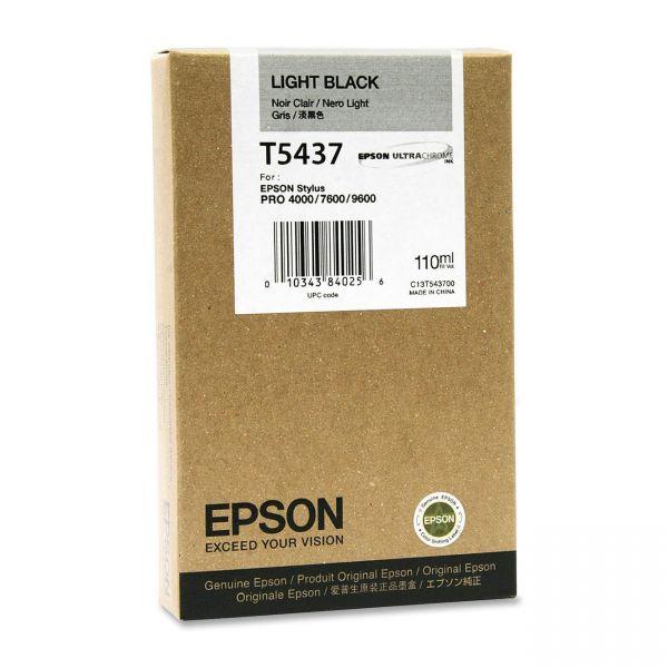 Epson T5437 Light Black Ink Cartridge