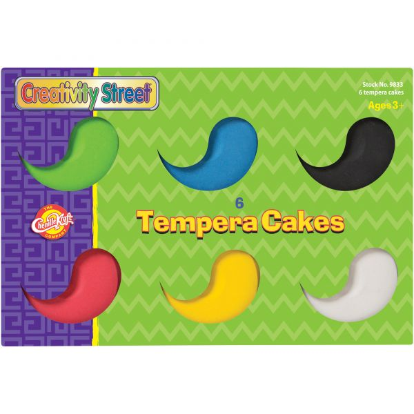Creativity Street Assorted Tempera Cakes