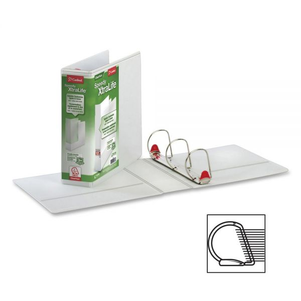 "Globe-Weis Speedy XtraLife Locking 3"" 3-Ring Binder"