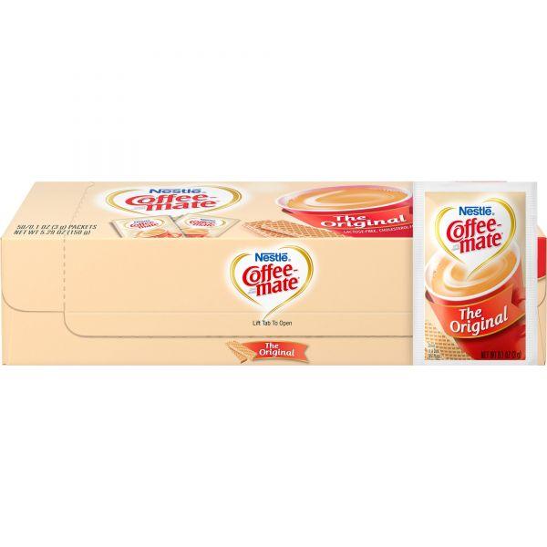 Coffee-Mate Powdered Coffee Creamer Packets