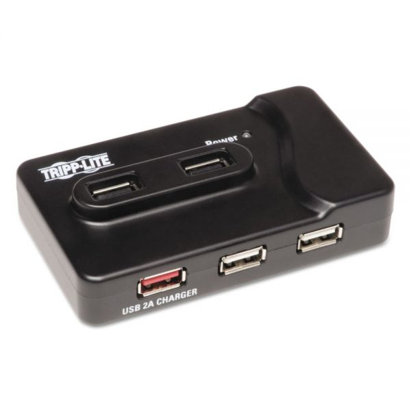 Tripp Lite 6-Port USB 3.0 SuperSpeed Charging Hub, Black