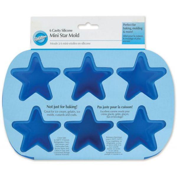 Wilton Mini Stars Silicone Mold