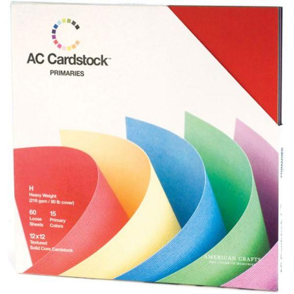 American Crafts Seasonal Cardstock Pack