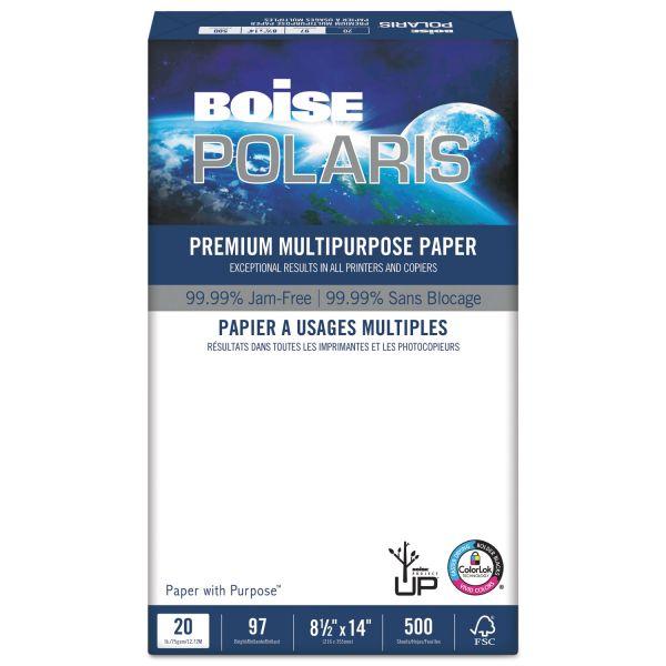 Boise POLARIS Premium Multi-Purpose White Copy Paper