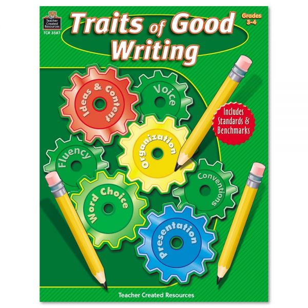 Teacher Created Resources Traits of Good Writing, Grades 3-4, 144 pgs