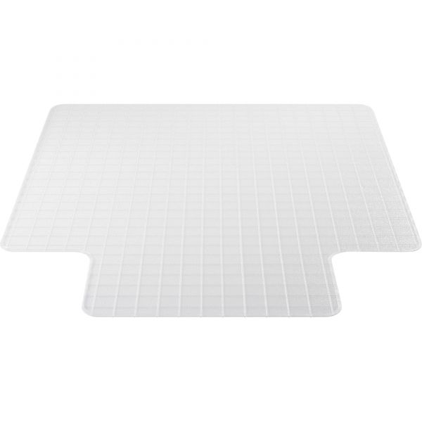 Deflect-o DuraMat Checkered Low Pile Chair Mat