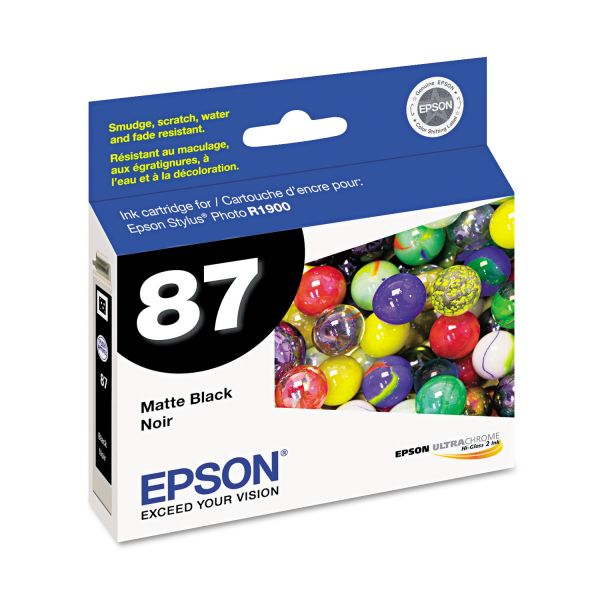 Epson 87 Matte Black Ink Cartridge