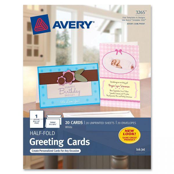 Avery 3265 Half-Fold Greeting Cards