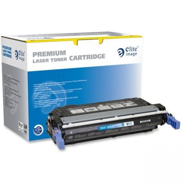 Elite Image Remanufactured HP CB400A Toner Cartridge