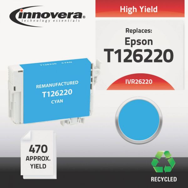 Innovera Remanufactured Epson 126 (T126220) Ink Cartridge