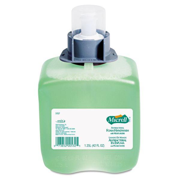 Micrell Antibacterial Foam Hand Soap Refills