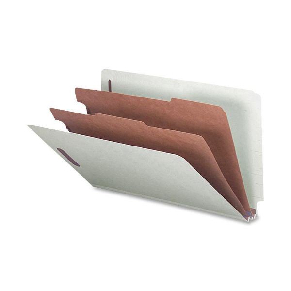 Nature Saver End Tab Gray Classification Folders