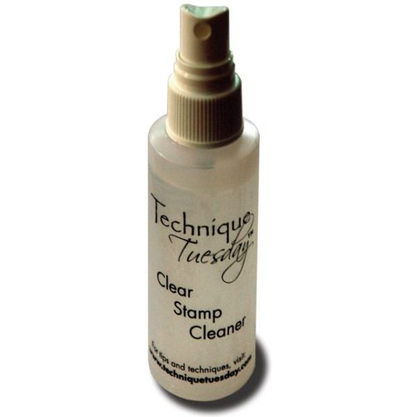 Technique Tuesday Clear Stamp Cleaner 2oz