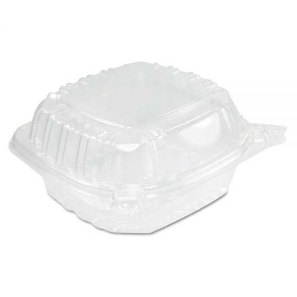 Dart ClearSeal Plastic Clamshell 13.8 oz Deli Containers
