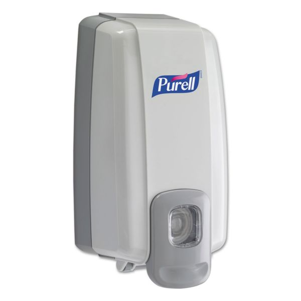 PURELL NXT Instant Hand Sanitizer Dispenser, 1000mL, 5 1/8w x 4d x 10h, WE/Gray