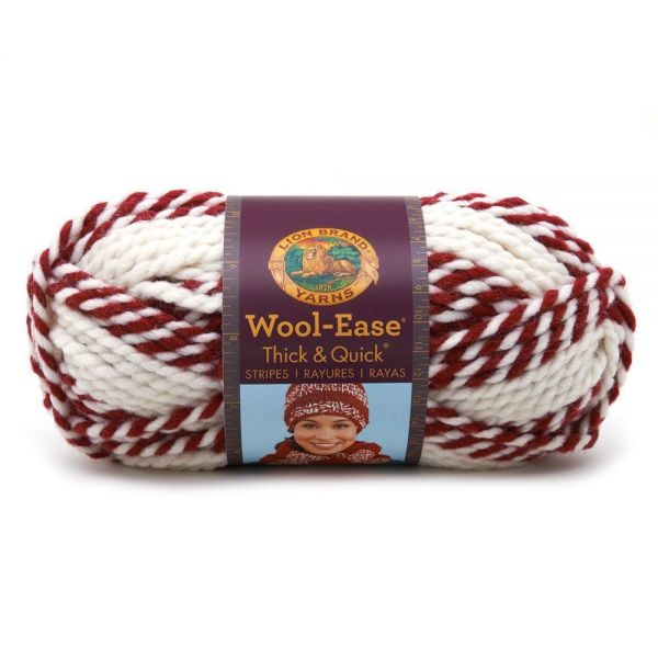 Lion Brand Wool-Ease Thick & Quick Yarn - Red Beacon