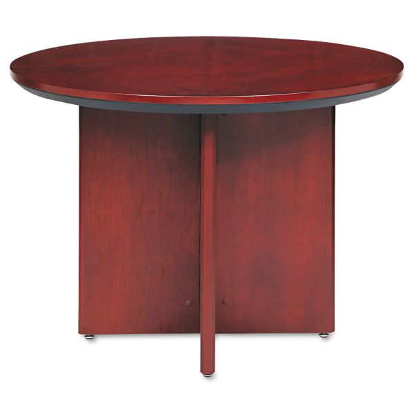 Tiffany Industries Corsica Conference Table, Round, 29-1/2h x 42dia, Sierra Cherry