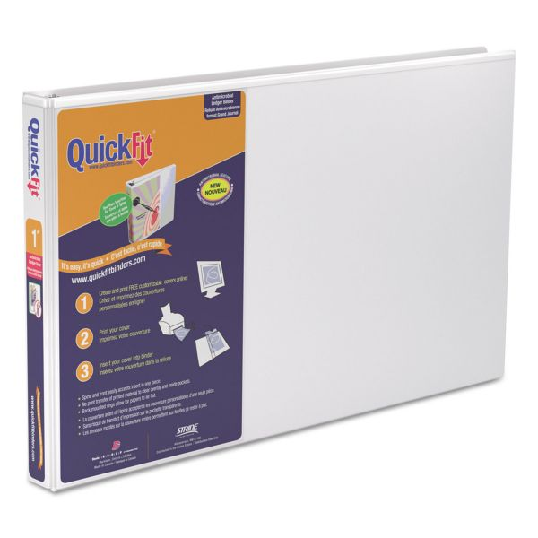 "Stride QuickFit 1"" 3-Ring View Binder"