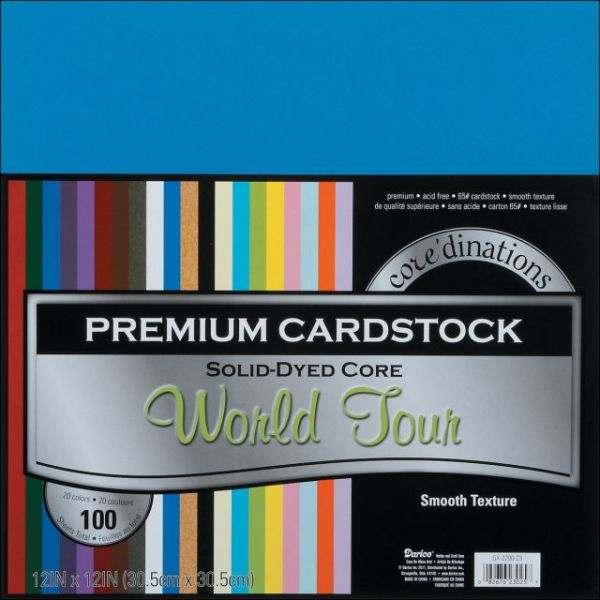 Core'dinations Premium Smooth World Tour Cardstock