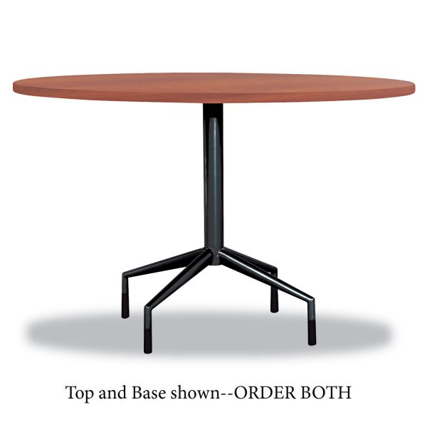 "Safco RSVP Series Round Table Top, Laminate, 42"" Diameter, Cherry"