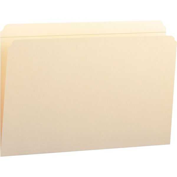 Smead Manila File Folders with Reinforced Tab