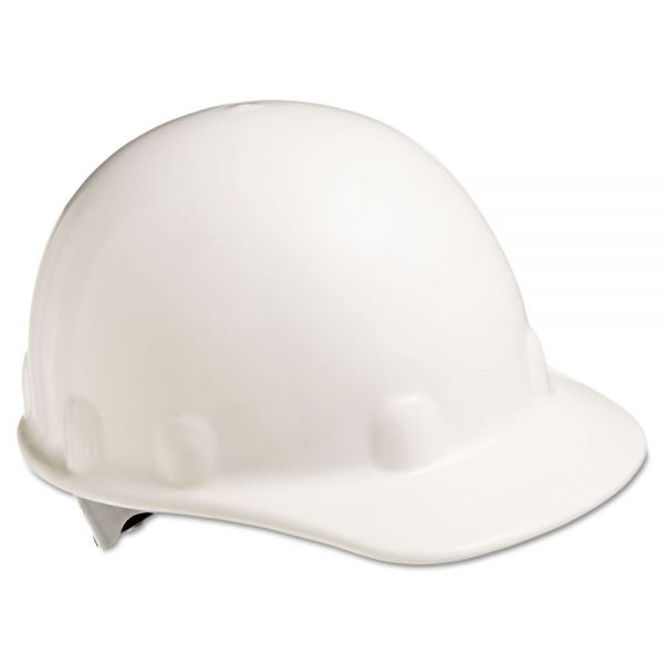 Fibre-Metal by Honeywell E-2 Cap Hard Hat With Ratchet Suspension, White