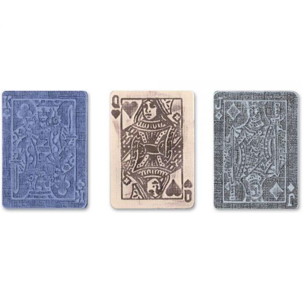 Sizzix Texture Trades A2 Embossing Folders 3/Pkg