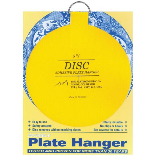 Invisible Plate Hanger 5.5""