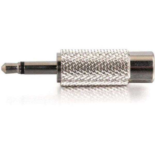 C2G 3.5mm Mono Male to RCA Female Audio Adapter