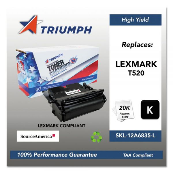 Triumph Remanufactured Lexmark T520 Toner Cartridge