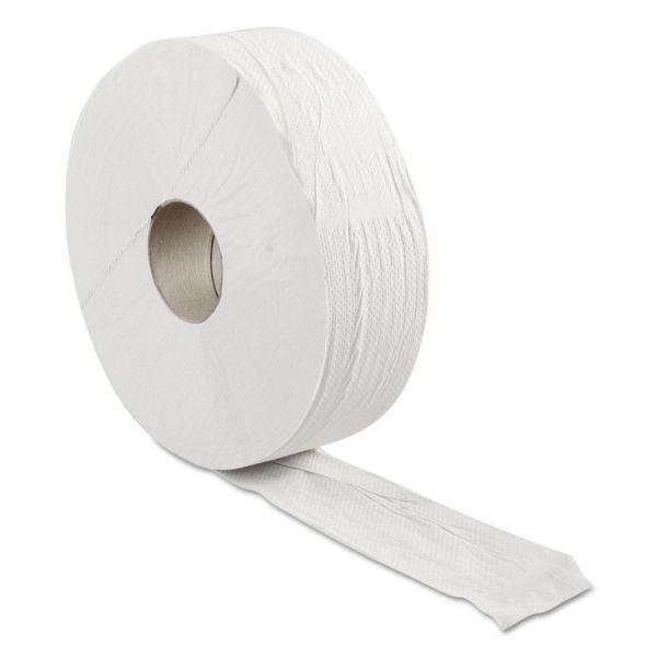 "Resolute Tissue Green Heritage Professional Jumbo Toilet Tissue, 2-Ply, 12"" Dia., Economy Size"