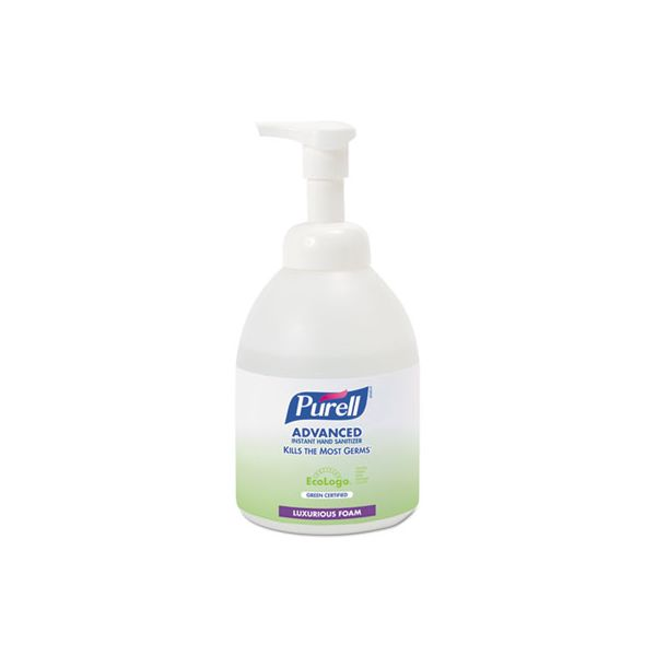 PURELL Advanced Green Certified Instant Hand Sanitizer Foam, 535 ml Bottle