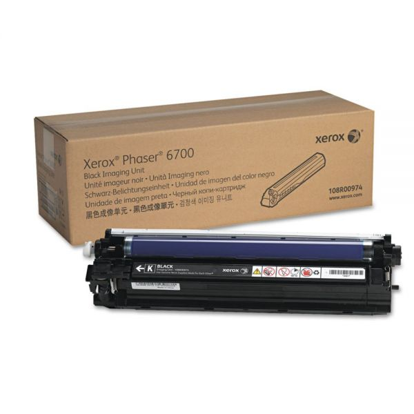 Xerox 108R00974 Imaging Unit, 50,000, Page-Yield, Black