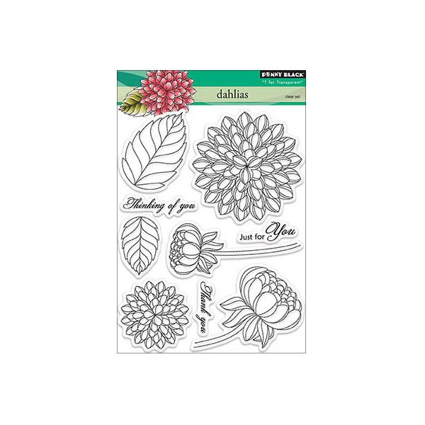 "Penny Black Clear Stamps 5""X6.5"" Sheet"