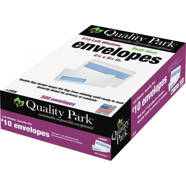 Quality Park Redi-Seal Security Window Envelopes