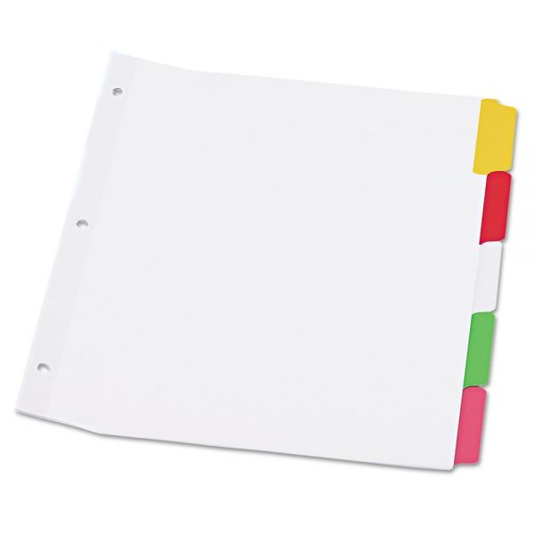 Universal Write-On/Erasable Index Dividers