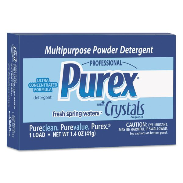 Purex Ultra Concentrated Powder Detergent, 1.4oz Box, Vend Pack, 156/Carton