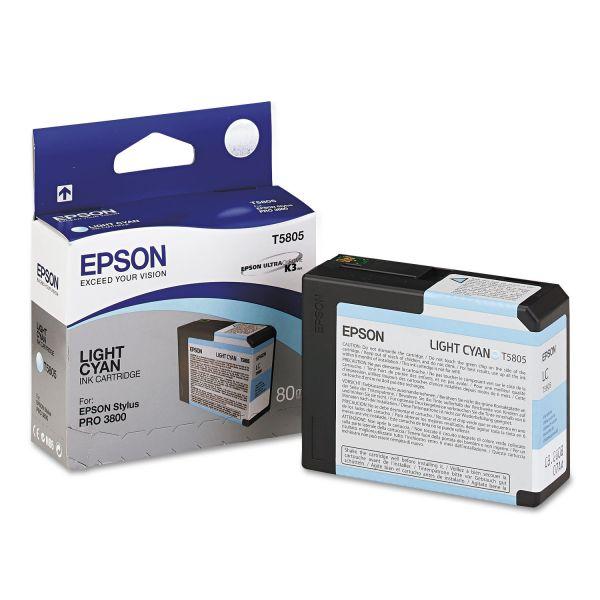 Epson T5805 Light Cyan Ink Cartridge