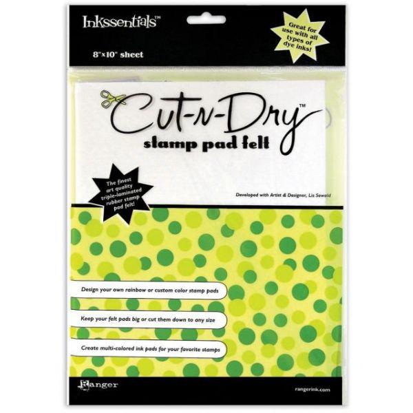 Inkssentials Cut-N-Dry Stamp Pad Felt