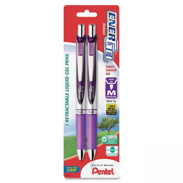 Pentel EnerGel Pearl Retractable Liquid Gel Pens