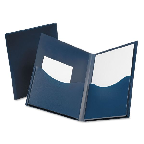 Oxford Poly Double Stuff Twin Pocket Folder