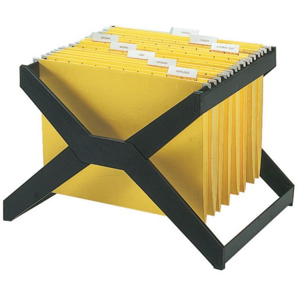 deflecto Desktop Hanging File X-Rack